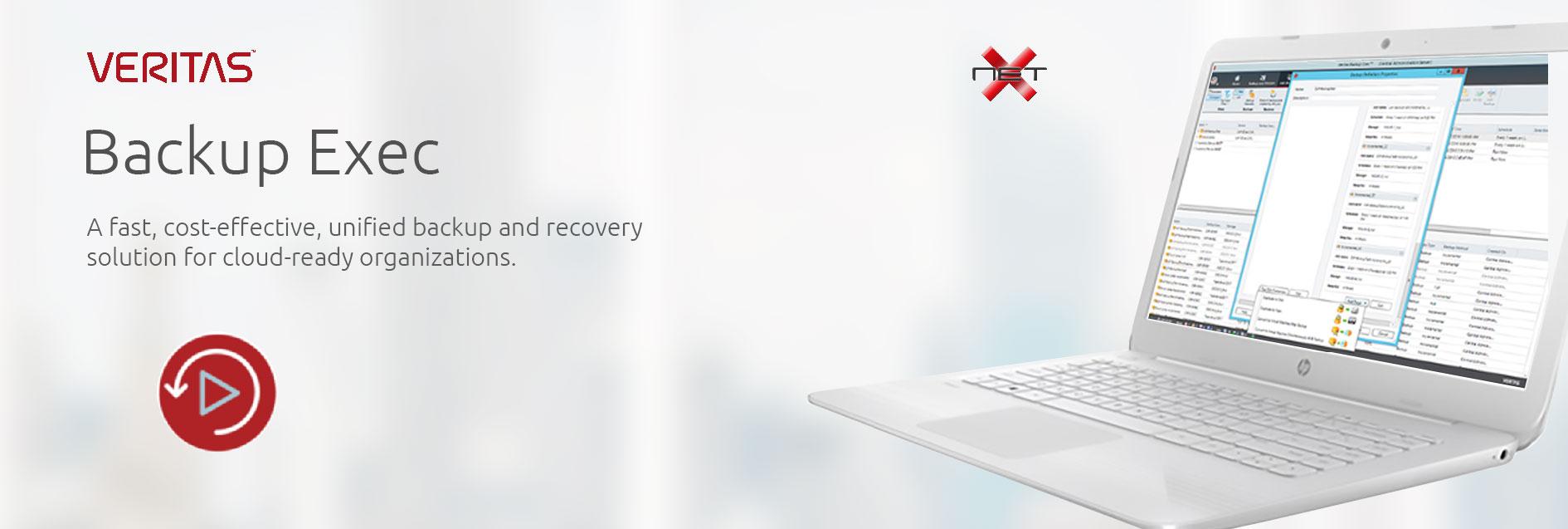 Veritas Backup Exec Services with NetX