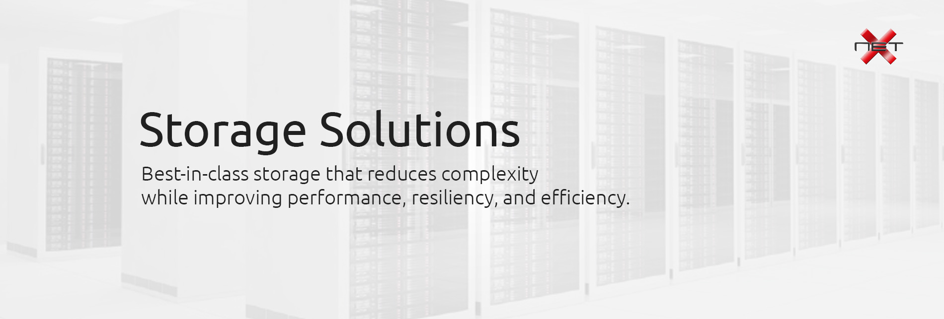 Storage Solutions by NetX Information Systems