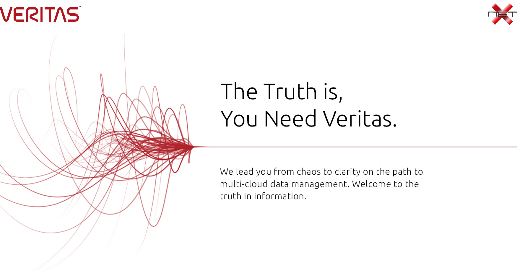 veritas products with Netx
