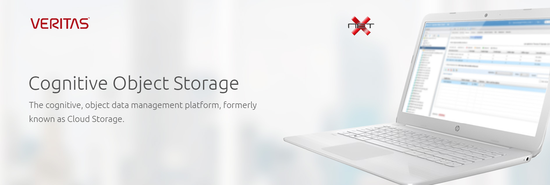 netx-veritas-Cognitive-Object-Storage-banner