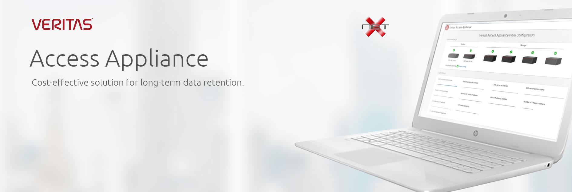 netx-veritas-access-appliance services banner