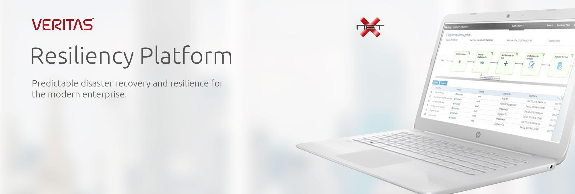 veritas resiliency platform with netx