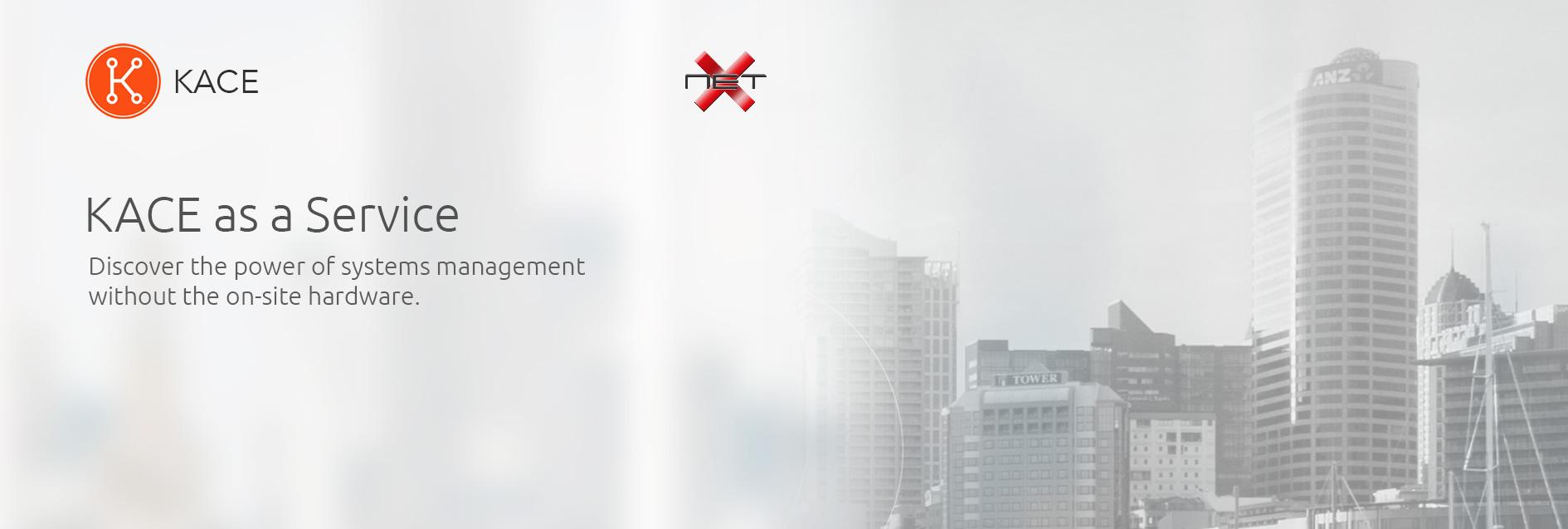 kace as a service by netx