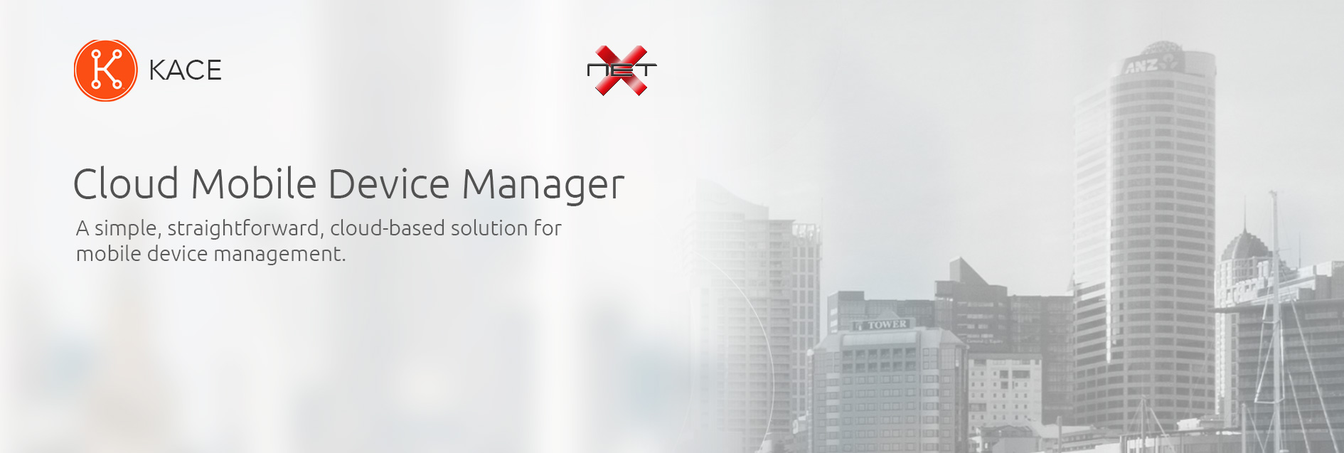 netx kace mobile device manager