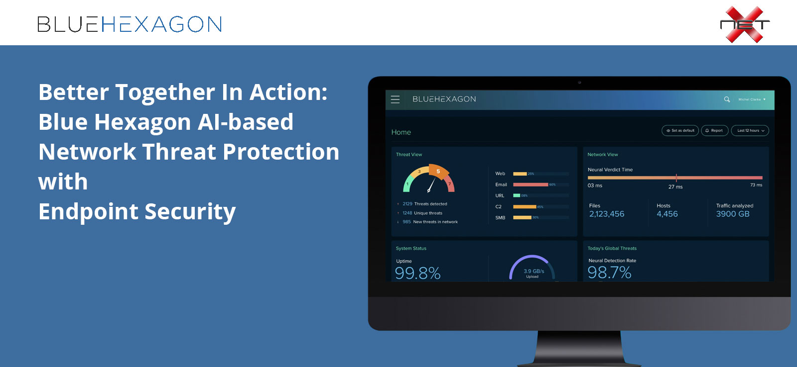 Blue Hexagon Webinar Network Threat Protection