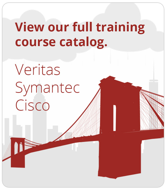 NetXs'full Veritas and Symantec Broadcom authorized course list.